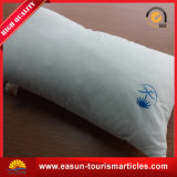 Дешевая белая подушка шеи Microfiber для авиакомпании
