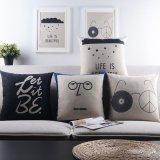 Напечатанное кресло прямоугольника 45X45cm с подушками для напольной мебели
