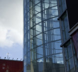 Самомоднейшая стеклянная ненесущая стена