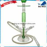 Narghilé di Oduman Shisha del narghilé dell'oggetto d'antiquariato di vetro verde Bw1-098