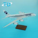 A380 Vliegtuigen van het Stuk speelgoed van de Hars van de Schaal van het 1:200 de Miniatuur Model