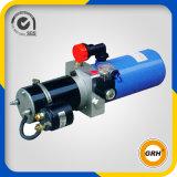 Unidade da energia hidráulica do reboque da descarga, 12V dobro que actua, tanque do metal 6L, OEM
