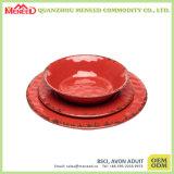 Di ceramica come la ciotola del pane della melammina di disegno del cracker