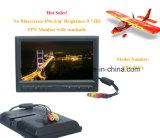 "8 ""High Brightness 450CD / M2 Fpv Monitor W / Sun Shield Sem tela azul (FPV-819A)"
