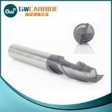 알루미늄 끝 선반 CNC 맷돌로 가는 공구 3개의 플루트