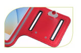 iPhone 7 аргументы за телефона PVC PU Armband спорта /Universal мешка мешка сотового телефона идущее