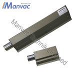 Couteaux à air industriel en aluminium métallique 30 cm