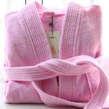 昇進のホテル/ホーム100%年の綿のベロアの浴衣/パジャマ