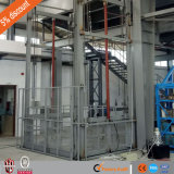 Fabricant chinois Fabricant Hydraulic Guild Rail Goods Lift for Warehouse