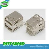 5 разъема USB Pin разъем Fbusba2-118 USB 8pin женского миниого миниый