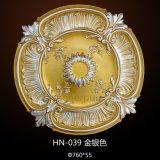 Médaillon victorien Hn-039 de plafond de cru d'unité centrale