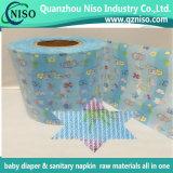 SGS Certification 210mm Nonwoven Nylon Frontal Tape para Bebé e Fralda para Adultos