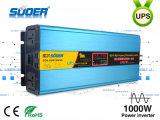 Omschakelaar 24V 1000W van de Omschakelaar UPS van de Hoge Frequentie van Suoer 2016 de Nieuwe Hybride Photovoltaic met ZonneControlemechanisme MPPT (zoon-SUW1500VA)