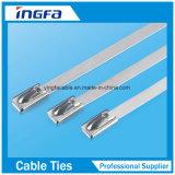 304 StahlEdelstahl-Kabelbinder für Hochleistungs