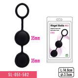 Het hete Stuk speelgoed van het Geslacht van de Ballen van het Genoegen van het Duo van de Verkoop voor Paar 3 Ringen 2 het Volwassen Product van Parels