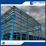 Casa de acero de la casa prefabricada de los paneles de emparedado