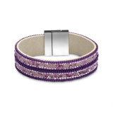 Heiße Bohrgerät-Frauen-ledernes Armband Hotsale Form-Frauen-Schmucksache-Armband