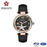 2016 Красивые наручные часы небольшой набор часы для женщин натуральная кожа кварц