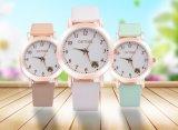 Relojes resistentes de la marca de fábrica de agua de la correa de la joyería de las mujeres de señora reloj del reloj del estudiante