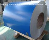 O revestimento de zinco azul da cor galvanizou a bobina de aço para o material de construção