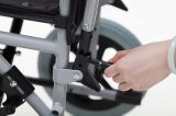 "Manuale d'acciaio, 12 "" rotella, sedia a rotelle (YJ-021C)"