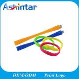 Bracelete de silicone de memória USB Stick USB Mini Unidade Flash USB