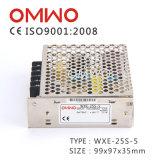 Wxe-25s-5 25W 5V 5Aは出力切換えの電源を選抜する