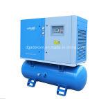 Compresseur d'air électrique monté petit par réservoir de vis silencieuse (KB15-10D/500)