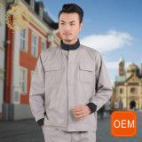 Camera cinese del collare dell'OEM che mantiene le uniformi, le uniformi del lavaggio di automobile con Gray ed il nero