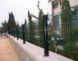 Puerta de metal de patio trasero / diseños de puerta de casa / cerca de malla de alambre de curva