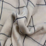 De gecontroleerde Sjaal van de Voile, de Gestreepte Sjaal van de Polyester voor de Bijkomende Sjaals van de Manier van Vrouwen