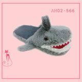 새로운 겨울 상어 온난한 만화 귀여운 실내 우연한 단화 슬리퍼
