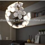 거실 펀던트 점화를 위한 이탈리아 창조적인 LED Suspenssion 램프