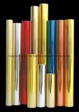 Película da impressão da transferência térmica do ouro