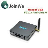 최고 상자 Mecool Bb2 인조 인간 6.0 IPTV Amlogic S912 텔레비젼 상자를 놓으십시오