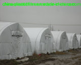 Suriname tenda de filme plástico preto e branco
