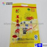 Taille personnalisée Riz Emballage en plastique Sac de qualité alimentaire