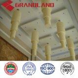 Panneau composite aluminium Aluminium faux plafond acoustique de matériaux de construction