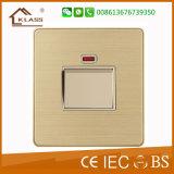Qualitäts-Metallplatten20A Warmwasserbereiter-Schalter