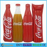 Raggruppamento del gioco dell'acqua di promozione che nuota figura gonfiabile Airmattress della bottiglia