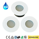 Die-Cast GU10 de aluminio / Módulo LED IP65 LED Downlight para Baño