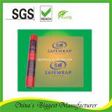 Pellicola di stirata stampata blu rossa LLDPE che sposta la pellicola di stirata