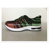 De Sportieve Schoenen van de Tennisschoen van de Schoenen van mensen met Bovenleer Flyknit
