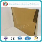 vidrio de flotador del bronce del euro de 6m m con el certificado de Ce/ISO