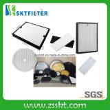 Hoja del filtro del polvo HEPA de la fibra de vidrio