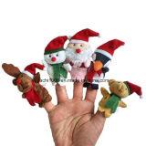 Super Cute Kids Mini juguete de peluche peluches marionetas de dedo