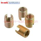 302 Tolérances standard Insérer l'écrou pour le matériau métallique
