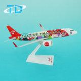 Modelo do avião do negócio de Ásia do ar de Airbus A320neo (surpresa) 26cm