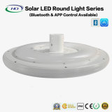 15W Solar LED Round Light with Bluetooth APP
