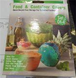 Hot la vente de Jeu de 4 &d'aliments contenant des couvertures, de stockage pour la fraîcheur étendu